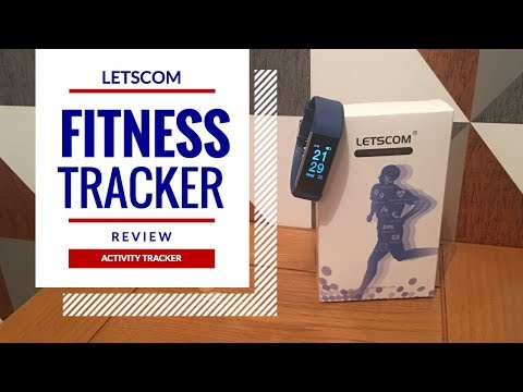 LetsCom Fitness Tracker Review Unboxing Under $30