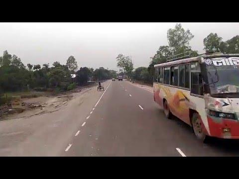 Dhaka tangail highway four lane project . April 2016