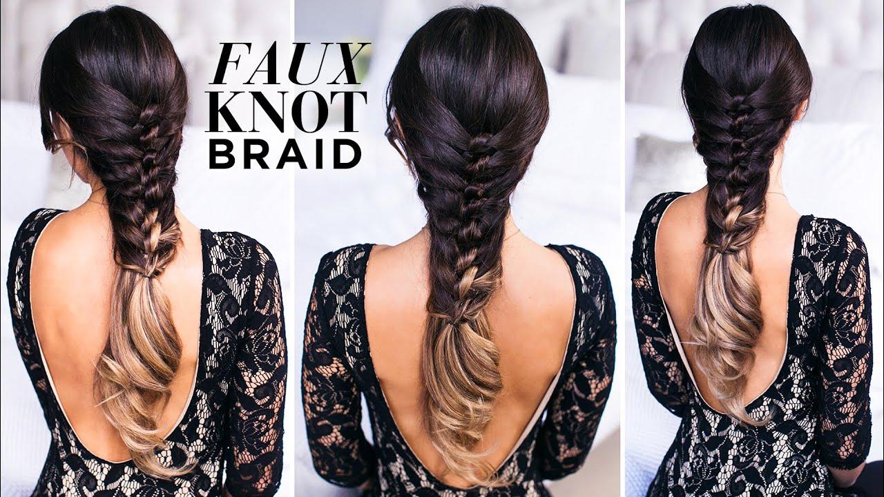 Faux Knot Braid Tutorial