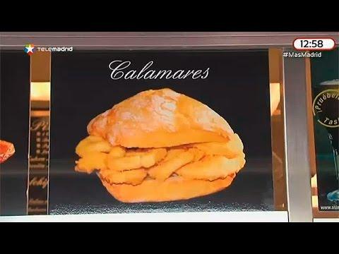 Los mejores bocadillos de calamares de Madrid