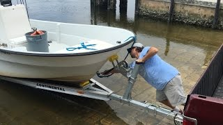 New Boat Trailer - First Launch