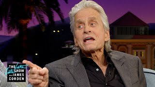 Do NOT Block Michael Douglas' View at a Lady Gaga Show Video