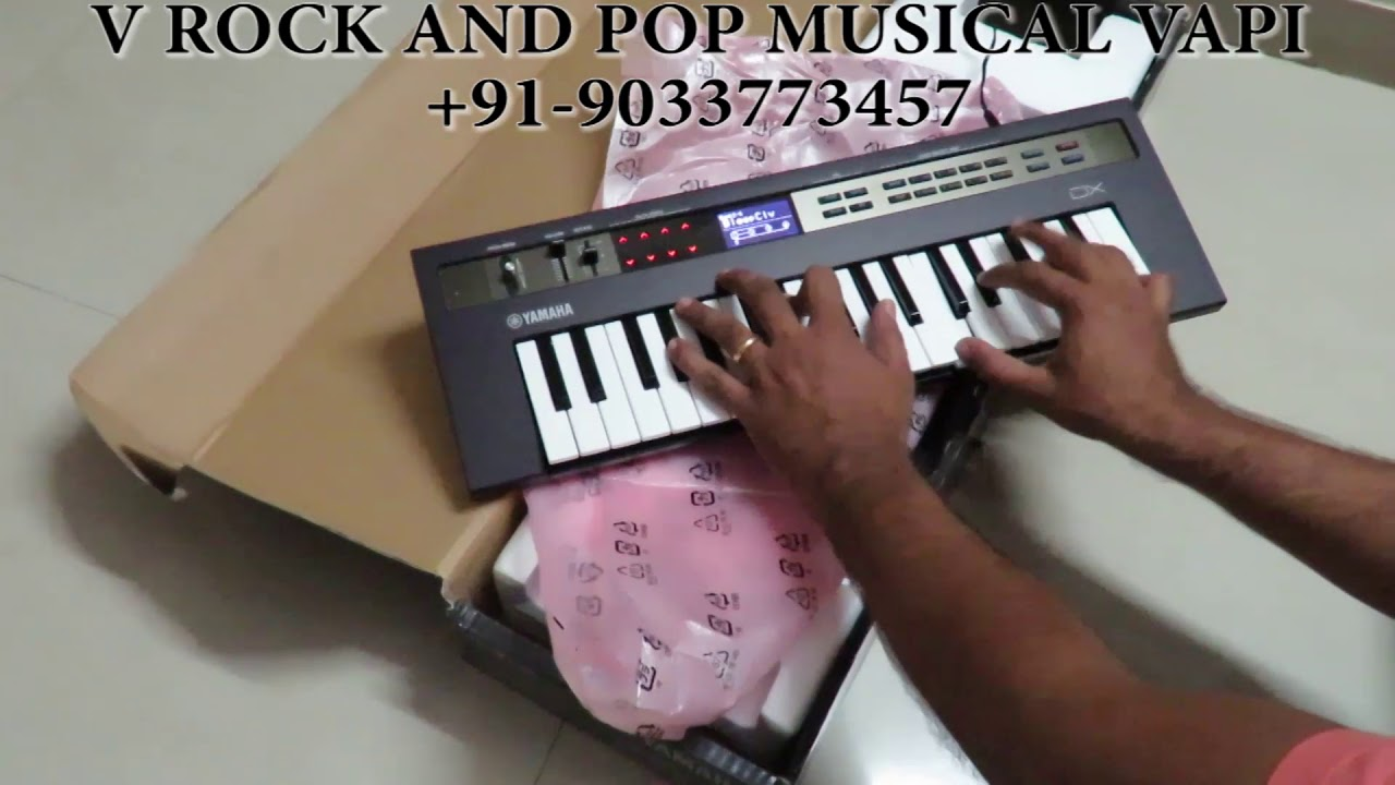 YAMAHA REFACE DX UNBOXING AND INDIAN OVERVIEW
