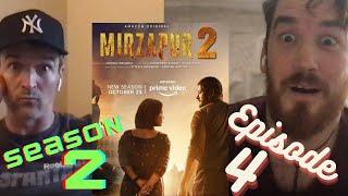 MIRZAPUR Season 2 | Episode 4 - BHAYMUKT | Pankaj Tripathi | Amazon Prime Video | REACTION!!