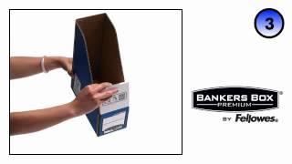 Bankers Box Premium Magazine File - Assembly Demo