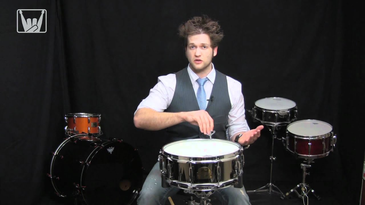 Anatomy Of A Snare Drum pt1 - Tech & Tuning with Kurt - YouTube