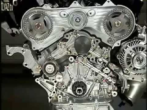 Mitsubishi 30L V6 Timing belt replacement - YouTube