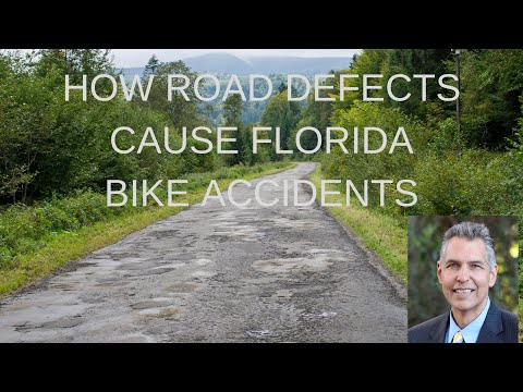 How Road Defects Will Cause FL Bike Accidents | Lake County Injury Lawyer