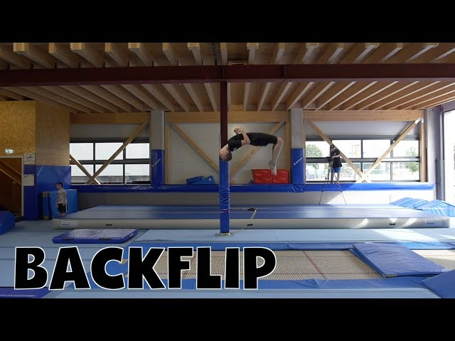 Trampolin Tutorial - BACKFLIP // Freestyle Academy Stuttgart
