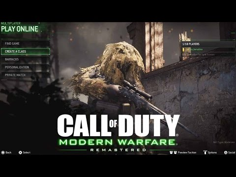 "MODERN WARFARE REMASTERED! - ""BACK TO BOOTS ON THE GROUND AGAIN!"" - Road To Level 1000 #1"