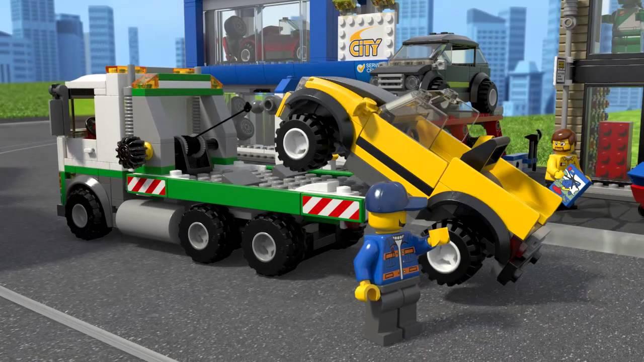 LEGO City - 60097 Náměstí ve městě - YouTube