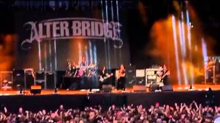 Alter Bridge @ Graspop Metal Meeting 2014