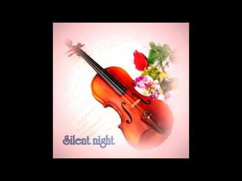 Silent night violin music - Christmas songs instrumental - piano and violin duet