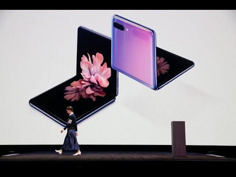 سامسونغ تكشف 4 هواتف جديدة بينها واحد قابل للطي  - 16:01-2020 / 2 / 13