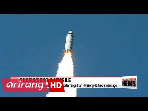 S. Korea's defense ministry offers latest take on N. Korea's missile test