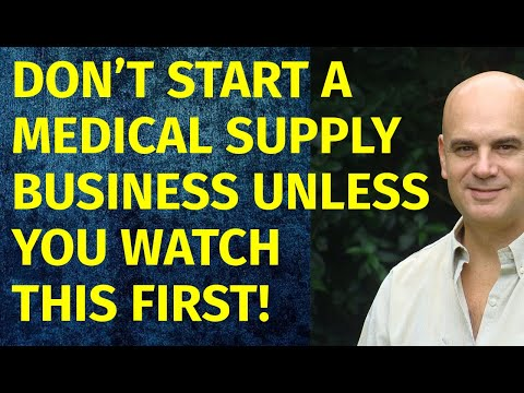 How To Start A Medical Supply Business | Including Free Medical Supply Business Plan Template