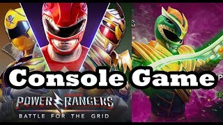 """New Power Rangers Console Game: """"Battle For the Grid"""" Announced"""