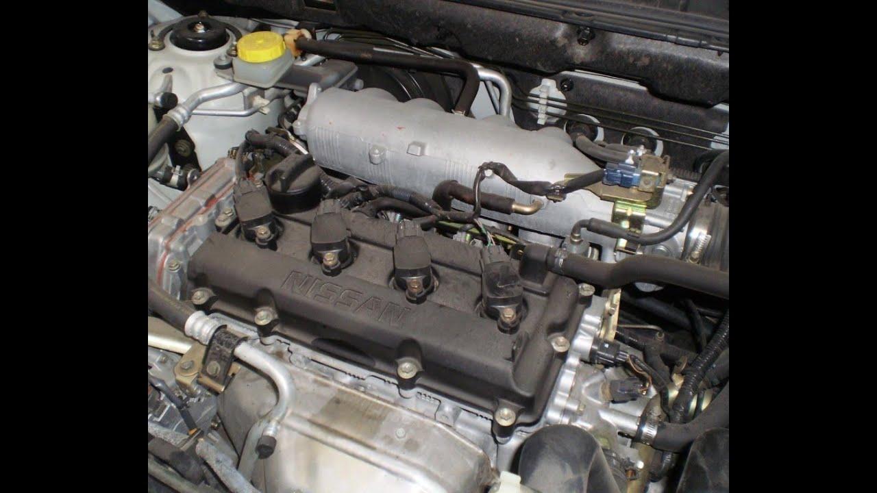 Como poner a tiempo una Nissan X trail 2.5 litros - YouTube