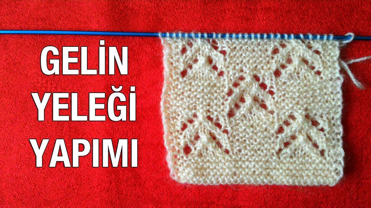 Alize İple Çeyizlik Gelin Yeleği Yapımı Anlatımlı Türkçe Videolu
