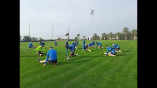 Fc Slovan Liberec Football training Camp in Antalya Turkey