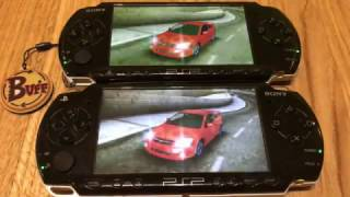 Two PSP Multiplayer Need for Speed: Most Wanted 5-1-0 WIFI FULL HD