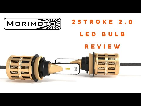 Morimoto 2Stroke 2.0 LED Headlight Bulb Review and Demo   Headlight Revolution