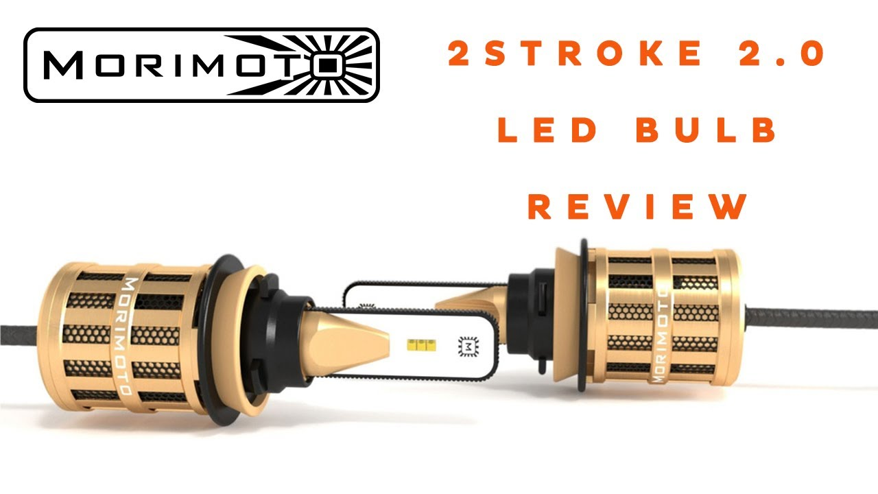 Morimoto 2Stroke 2 0 LED Headlight Bulb Review and Demo | Headlight  Revolution