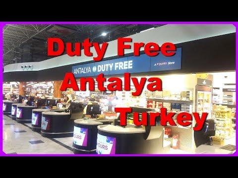 Duty Free Antalya  /Turkey ЧТО ДОРОГО - ЧТО ДЕШЕВО ОТ ВИСКИ  до ЧУПА-ЧУПСА  ОКНО В РЕЛАКС