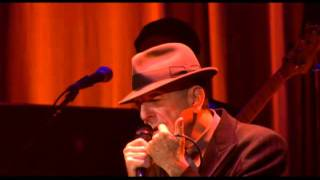 Leonard Cohen at the Chelsea Hotel Live In London