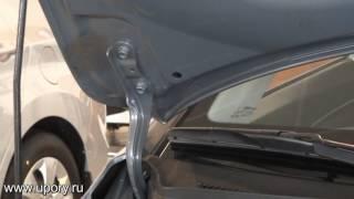 Установка амортизаторов (упоров) капота для Hyundai Elantra (арт. KU-HY-EL06-00) от upory.ru