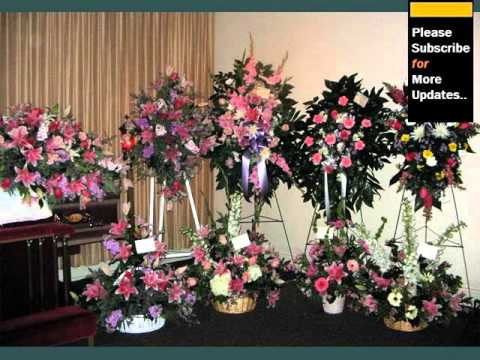 Funeral Flower Arrangements Ideas - YouTube