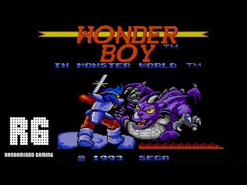 Wonder Boy in Monster World - Master System Gameplay