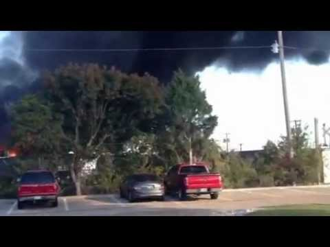 Garland chemical factory explosion