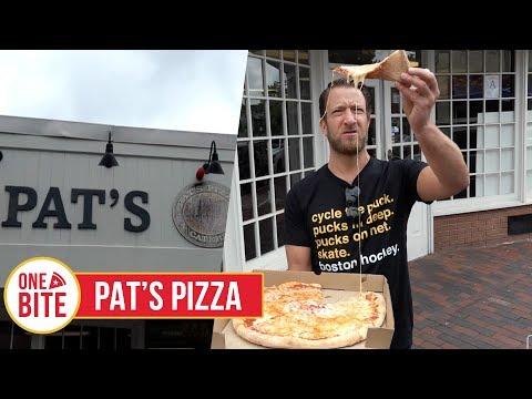 Barstool Pizza Review - Pat's Pizza (Dorchester, MA) Bonus Ice Creamsmith Review