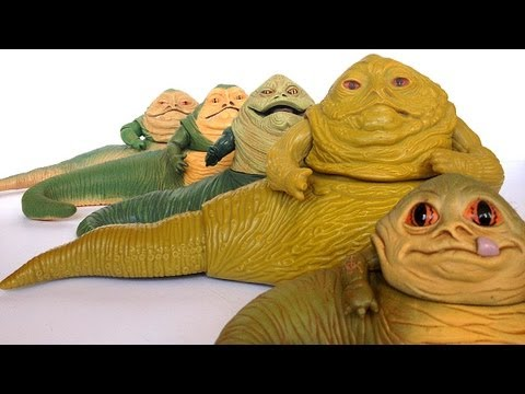 Star Wars JABBA THE HUTT Acti Figure Evoluti Episode 2!