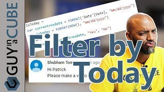 Power BI Tutorial Dynamically Filter By Today s Date