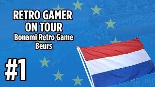 RETRO GAMER ON TOUR - Video game hunting at Bonami Retro Game Beurs Apeldoorn Netherlands