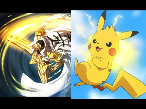 one piece characters as pokemon youtube