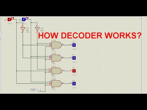 2 to 4 and 3 to 8 decoderavi - YouTube