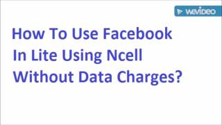 Free Internet from Ncell (100% Working)