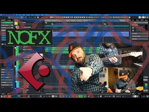 Remaking a NOFX Song in Cubase 10