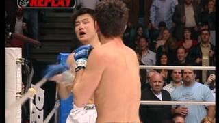 Nick Diaz vs Takanori Gomi - Pride 33 (English Commentary)