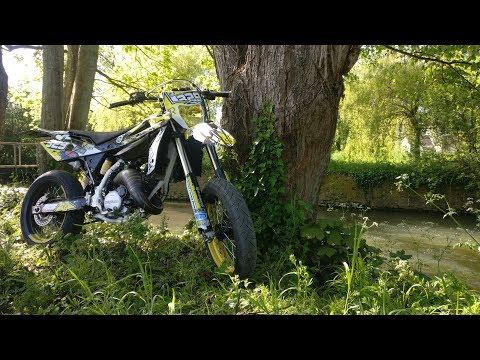 New Bike Husqvarna 125 sms Rockstar Energy Project