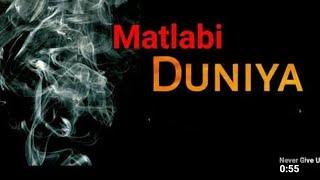 MATLABI DUNIYA (Official video)Mvmbeat Latest movational Rap 2021