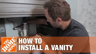 Start to Finishes: How to Install a Vanity