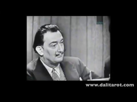 Salvador Dalí in a contest TV show