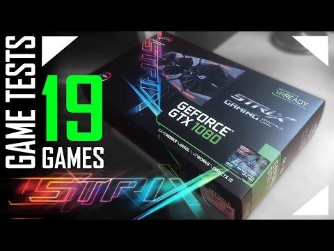 ASUS Geforce GTX 1080 Strix 8GB OC  - 19 játékteszt (HUN)