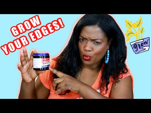 Dax Kocatah Hair Grease Is Great For Growing Edges, Stimulating Hair Growth, Cuts and Abrasions