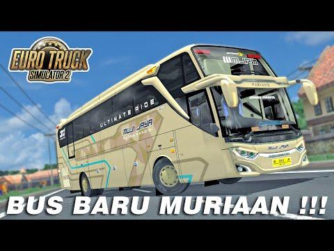 Test Drive Muji Jaya Terbaru, Langsung Di ajak Ngblong - ETS2 Mod Indonesia - 동영상