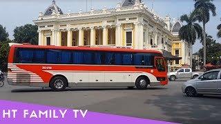 Wheels On The Bus HN 19 🚍 Song Nursery Rhymes 4 Kids 🚌 Bus Ha Noi 19 | HT BabyTV ✔︎
